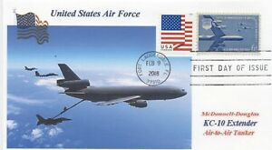KC-10-Extender-Stati-Uniti-Air-Force-Aircraft-Colore-Foto-Cacheted-Cisterna-USAF