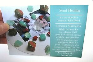 SEND-HEALING-Healing-Crystal-Grid-Card-4x5inch-Heavy-Card-Stock-Flower-of-Life