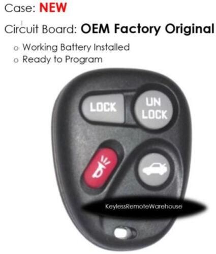 98 99 00 for Seville ElDorado keyless remote control opener keyfob FOB KOBUT1BT