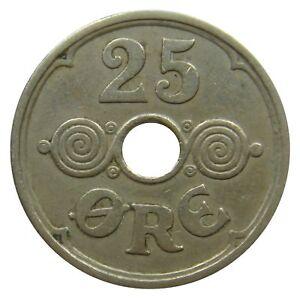 (z97) - Danemark Denmark - 25 Francs 1924-2006 - Km #-afficher Le Titre D'origine
