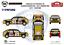 Decals 1//24Lancia Delta HF Integrale 16V Grifone Sanremo 90 FFSMC Productions