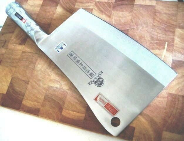 2 Units of Quality Heavy Chopping Knives - - Knives marked Japanese steel - Fast Shipping 22838f