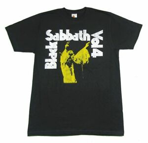 Black-Sabbath-Vol-4-Grey-T-Shirt-New-Official-Band-Merch-Album-Cover-Art-Volume