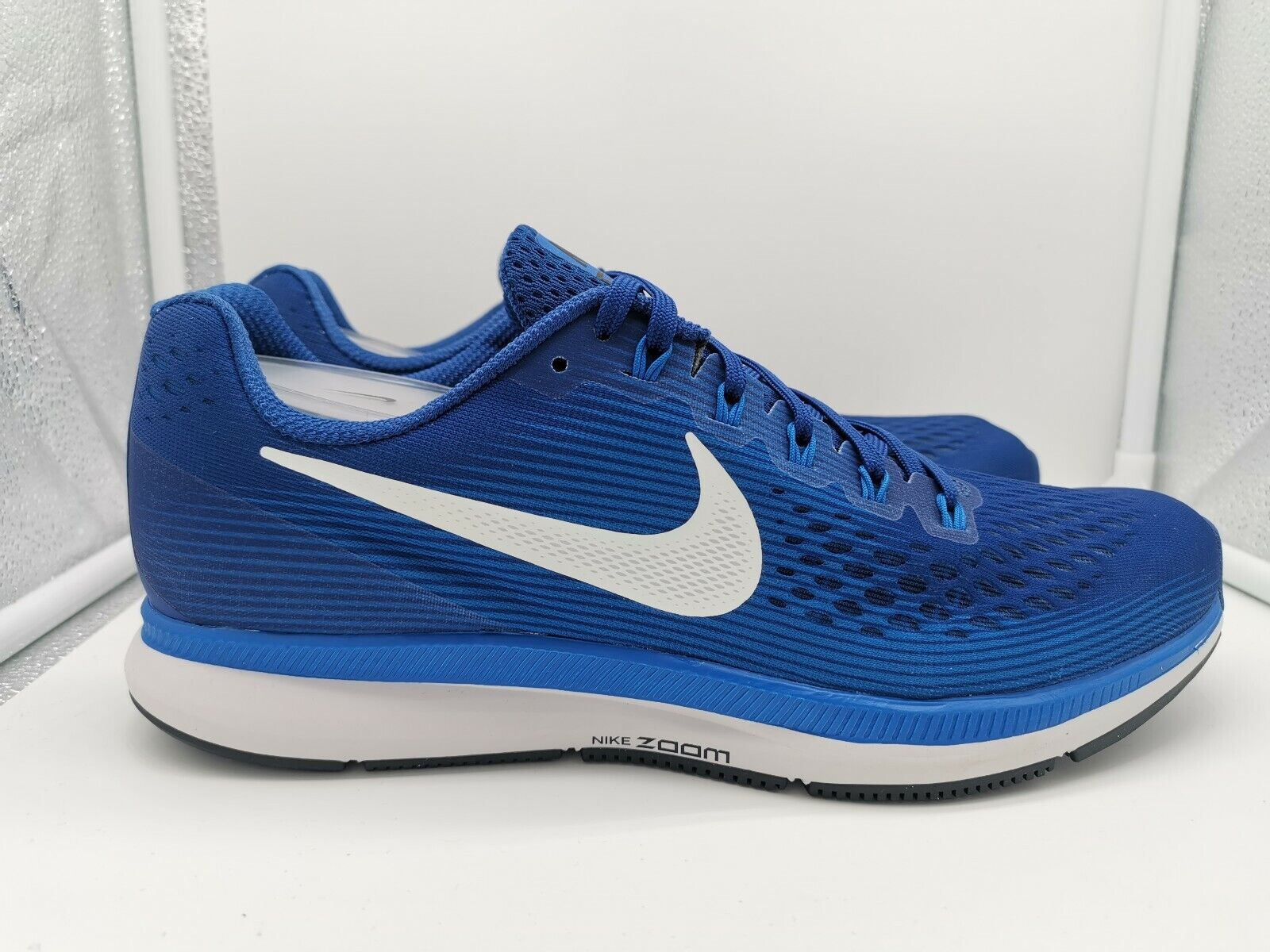 Nike Air Zoom Pegasus 34 UK 7.5 Gym Blau Sail Blau Nebula 880555-410