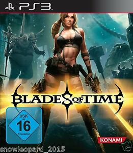BLADES OF TIME PS3 PlayStation 3 Video Game - Brand New and Sealed Original Rel 4012927054093