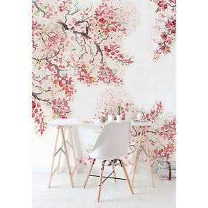 Spring-Cherry-Blossom-Removable-Wallpaper-Floral-Peel-and-Stick-Flowers-Adhesive