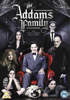 The Addams Family DVD 2013 M FACT Region 2