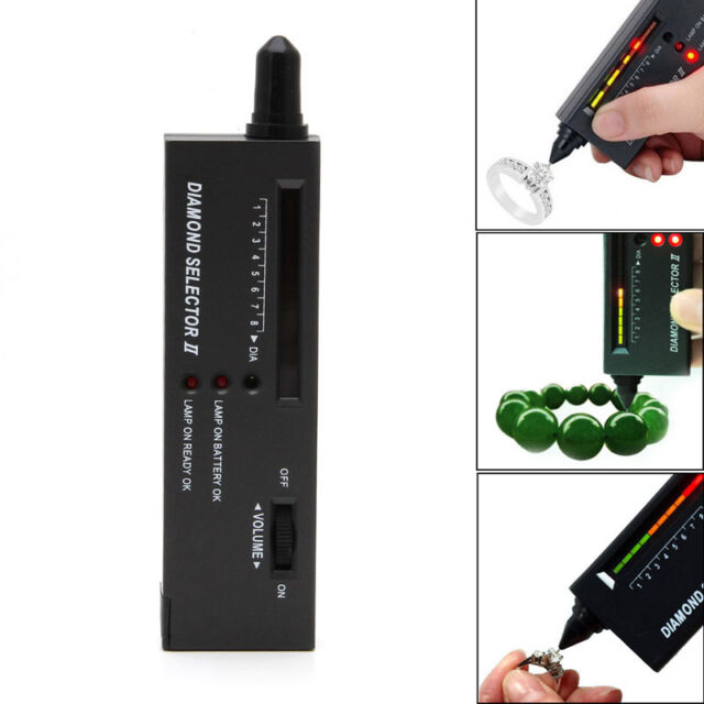 High Accuracy LCD Display LED Diamond Tester Jewelry Gem Selector Test Pen Tool