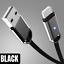 miniature 12 - 3Pack 3Ft 6Ft 10Ft USB Fast Charging Cable For iPhone 12 11 8 7 6 X Charger Cord