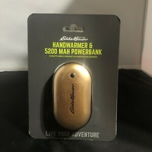 Eddie-Bauer-Handwarmer-amp-5200-MAH-Powerbank-NEW-Sealed-Unisex