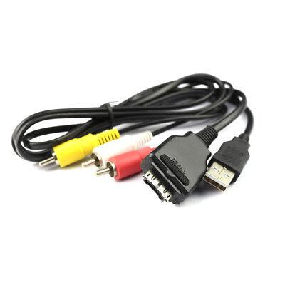 Usb/&av TV Cable para Sony Vmc-md2 Cyber-shot Dsc-h55 Dsc-w230 Dsc-w270 Cámaras