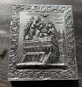 The-Virgin-Mary-Annunciation-3-1-8-X-2-5-8-Greek-Orthodox-Antique-Handmade-Icon