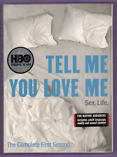 Tell Me You Love Me Complete First Season DVD 2008 4-Disc Set HBO New/Sealed