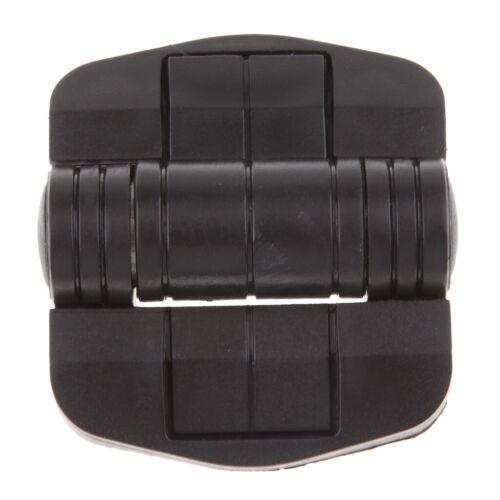 6PCs Black Positioning Hinge 115 Degree for Southco C6-25 C6-5 Plastic