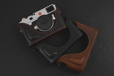 Leather Half Case for Leica R8 or R9 choice of colours BRAND NEW