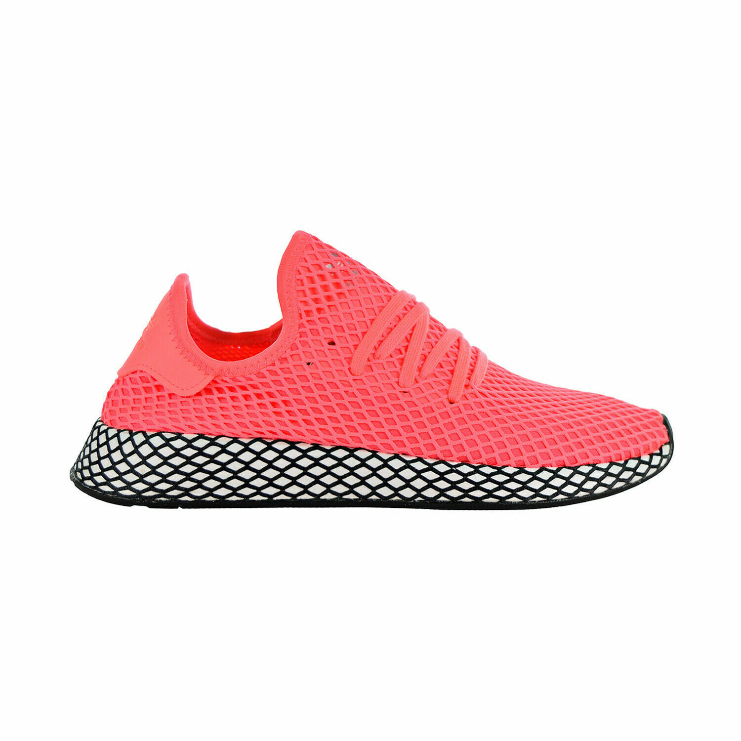 Adidas DEERUPT RUNNER Turbo Turbo Black - (B41769) Men's Size 10.5 NEW WITH TAGS