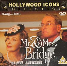 Mr. & Mrs. Bridge (DVD), Paul Newman, Joanne Woodward, Simon Callow.