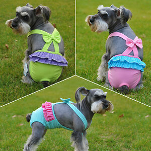 Dog-Strap-Cotton-Sanitary-Physiological-Bow-Pants-Pet-Underwear-Puppy-Diapers