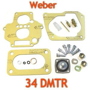 Weber-34DMTR-Service-kit-repair-rebuild-tune-up-gasket-set-175-valve-filter-pin