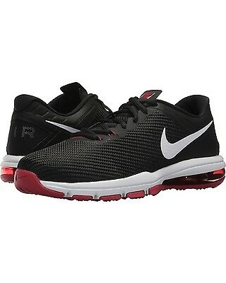 Mens Nike Air Max Full Ride TR 1.5 Black White Red shoes Size US 10 UK 9 EUR 44