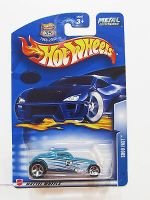 Hot Wheels 2002 Also Schnell Autos, Lkw & Busse Modellbau
