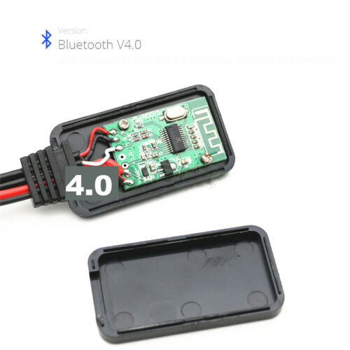 20cm Plastic 12 Pin 12V Bluetooth Audio Adapter AUX Cable For BMW 04-10 E60 E63