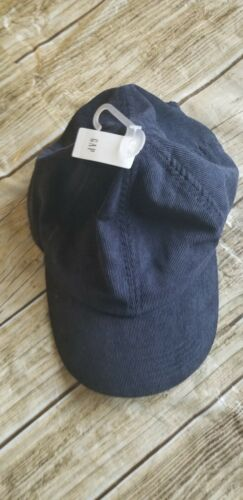 Gap Mens Cord Hat Cap One size Navy.
