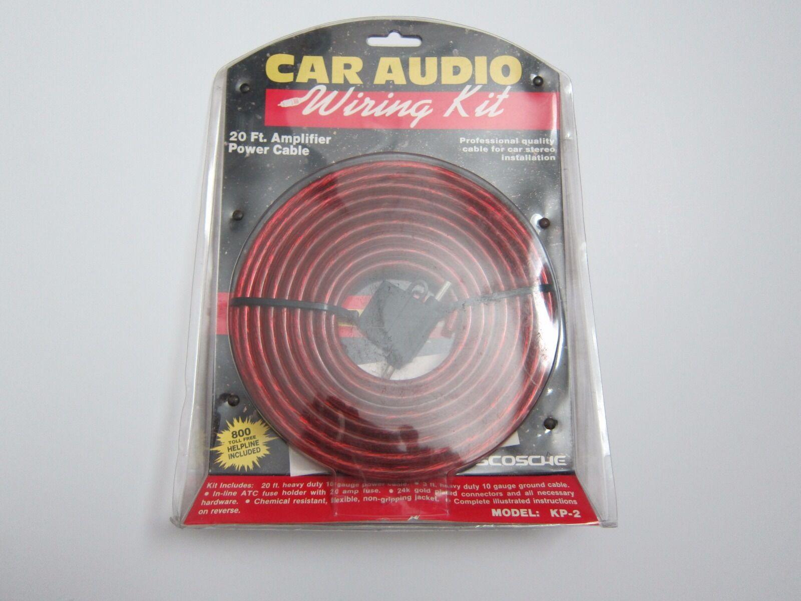 Scosche Kp 2 20 Feet Amplifier Car Audio Wiring Kit Ebay Gauge High Quality Lifier Power Wire Norton Secured Powered By Verisign