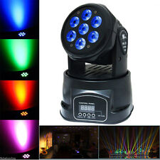 70W Stage Lighting RGBW LED Moving Head Beam Lights Disco DJ Party Stage Light