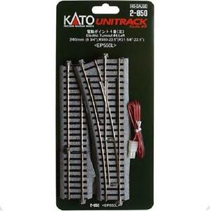 Kato-2-850-Aiguillage-Gauche-Electric-Turnout-Left-4-R550-22-5-HO