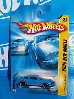 Hot Wheels 2008 Models 1 '07 Shelby Gt-500 Blue W/ Orange Stripes