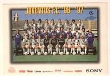 Cartoncino Juventus Squadra 1996-97