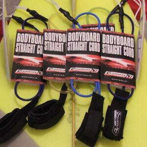 Creatures of Leisure Bodyboard Leash - Team Designed Straight Cord Wrist Leash