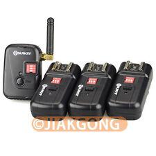 DSLRKIT PT-08XT 8 Channels Wireless/Radio Flash Trigger w/ Antenna w/ 3 receiver