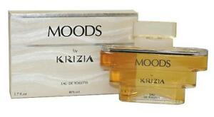 MOODS-by-Krizia-1-7-oz-eau-de-toilette-Splash-Women-039-s-Perfume-NEW-50-ml-NIB