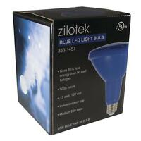 Led Blue Par38 90w Equivalent Using Only 13w Zilotek Light Bulb