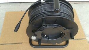 300 FT PRO CAT5e Tactical Shielded w//Neutrik Ethercon RJ45 Digital Cable on reel