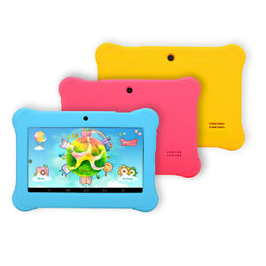iRULU BabyPad Y1 7 Android 4 4 8GB Quad Core Dual Cameras Kids Tablet PC