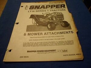 s l300 drawer 22) snapper lt16 series 1 lawn tractors & attachment parts snapper lt16 wiring diagram at soozxer.org