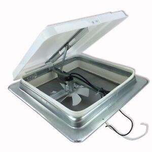 14 rv roof vent 12 volt fan power free garnish ring heng for 12 volt window fan