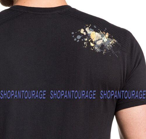 Affliction Soul Heiliger A19040 Neu Kurzarm Grafik Mode T-Shirt für Männer