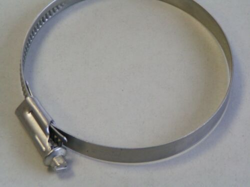 3x Edelstahlschelle Schlauchschelle 60-80mm W4 Schlauchschellen V2A Edelstahl