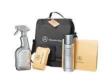 origi Mercedes Benz Pflege Set Interieur Kit Tasche Reinigung innen Cockpit Glas