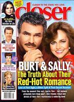 Closer Magazine June 20, 2016 Burt Reynolds Sally Field Ali Macgraw Bette Midler