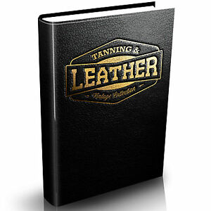 Leather-Work-Old-Collection-50-Rare-Vintage-Books-on-DVD-Tanning-Hide-Shoe-Skin