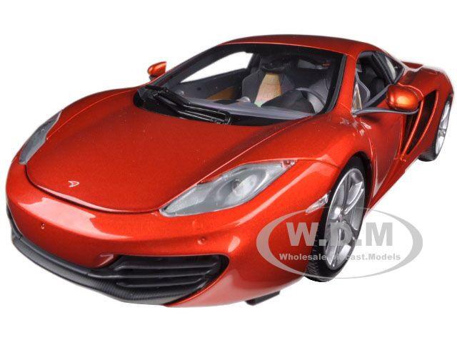 2011 McLAREN MP4-12C  Metallic Orange 1 18 Par Minichamps 110133020  moins cher