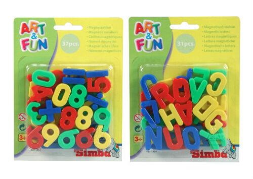 Magnet Buchstaben Magnete Neu  31-37 Einzelteile Magnet Zahlen