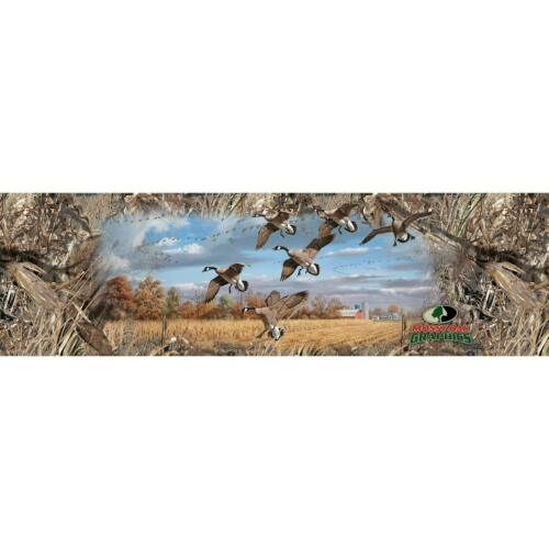 """6269 Mossy Oak Duck Blind 66/"""" x 20/"""" Large Rear Window Graphic Canadian Geese"""