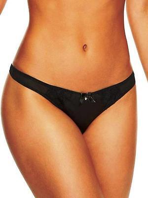 ANN SUMMERS Black Lace FRENCH KNICKER Brief//Short Size 20 EU 46 @NEW@ BNWT