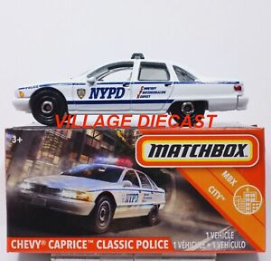 Matchbox 2020 #7 Chevy Caprice Classic Police
